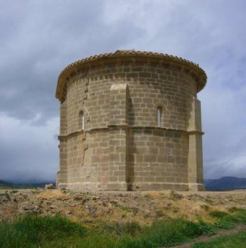 Iglesia San Martin Montalban Arizala Turismo Rural Navarra