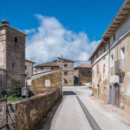 Lezaun Casas Blasonadas Turismo Rural Navarra