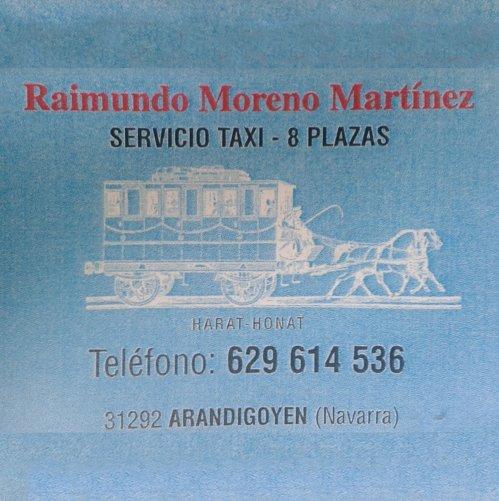Servicios Tierras Iranzu Taxi Raimundo 02
